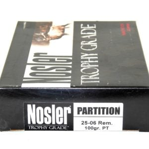 Nosler Ammo 25-06 Rem 100 Grain Partition (20)