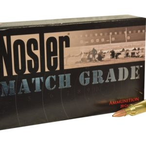 Nosler Ammo 22 Nosler 77 Grain Custom Competition (20)