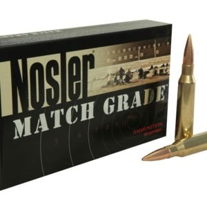 Nosler Ammo 33 Nosler 300 Grain Custom Competition (20)