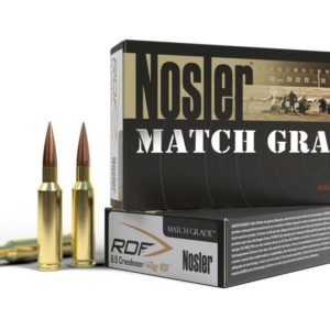 Nosler Ammo 6.5 Creedmoor 140 Grain RDF (Reduced Drag Factor) Hollow Point Boat Tail (20)