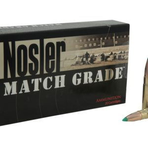 Nosler Ammo 300 AAC 125 Grain Boat Tail Match 400 Ct Can