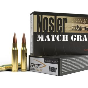 Nosler Ammo 308 Winchester 175 Grain RDF (Reduced Drag Factor) Hollow Point Boat Tail (20)