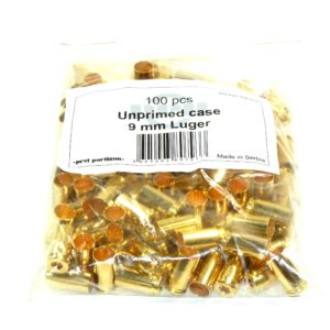 Prvi Partizian Unprimed Brass 9mm Luger (100)