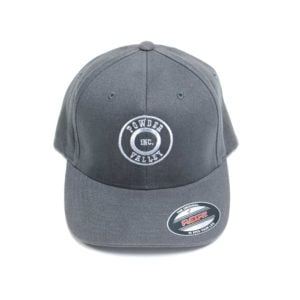 Powder Valley Hat Grey Brushed Twill Flexfit