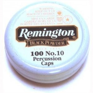 Remington #10 Percussion Caps (100)