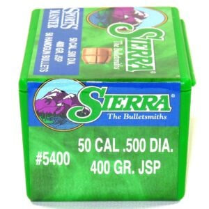 Sierra .500 / 50 400 Grain Jacketed Soft Point (50)
