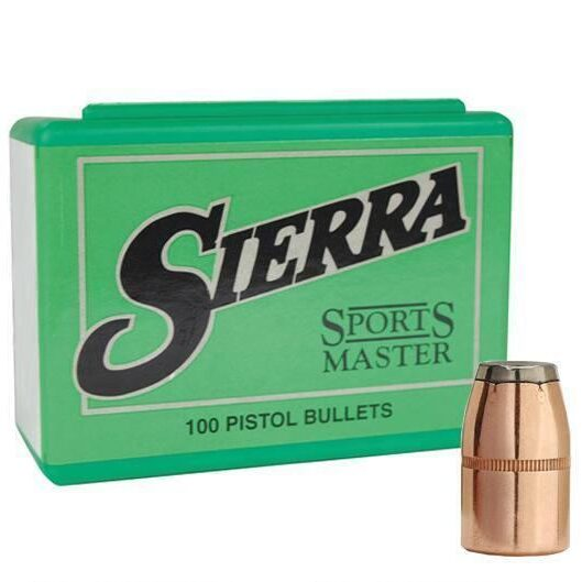 Sierra .357 / 38 158 Grain Jacketed Soft Point (100)
