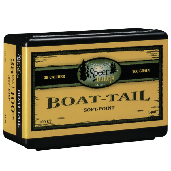 Speer .257 / 257 100 Grain Boat Tail Soft Point (100)