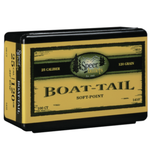 Speer .257 / 257 120 Grain Boat Tail Soft Point (100)