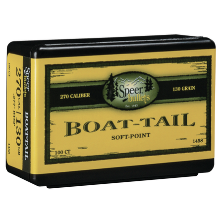 Speer .277 / 270 130 Grain Boat Tail Soft Point (100)