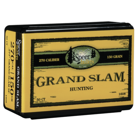 Speer .277 / 270 150 Grain Grand Slam (50)