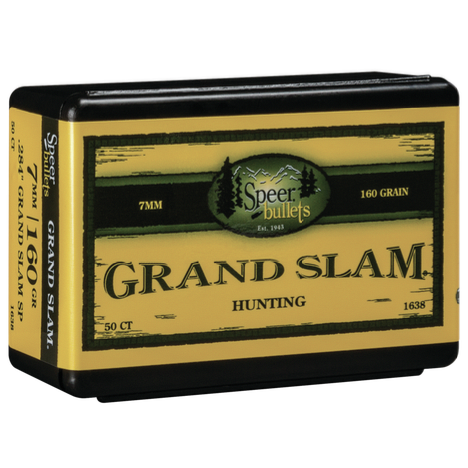 Speer .284 / 7mm 160 Grain Grand Slam (50)