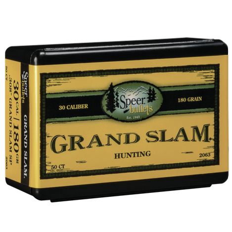 Speer .308 / 30 180 Grain Grand Slam (50)