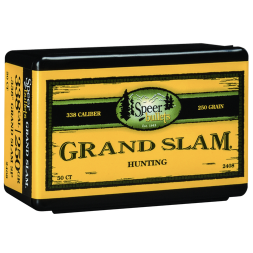Speer .338 / 338 250 Grain Grand Slam (50)