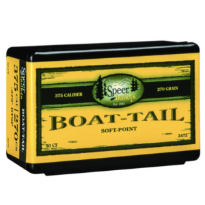 Speer .375 / 36 270 Grain Boat Tail Soft Point (50)