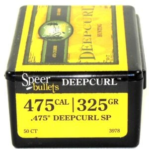 Speer .475 / 480 325 Grain Gold Dot Soft Point Deep Curl Soft Point (50)