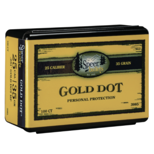 Speer .251 / 25 35 Grain Gold Dot Hollow Point (100)