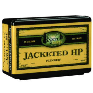 Speer .357 / 38 125 Grain Jackted Hollow Point (100)