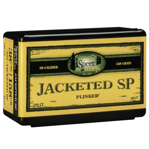 Speer .357 / 38 158 Grain Jackted Soft Point (100)