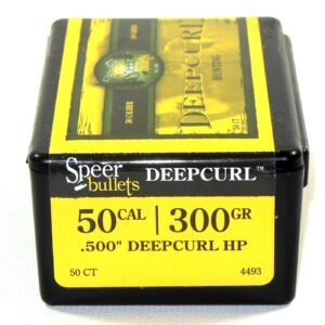 Speer .500 / 50 AE 300 Grain Deep Curl Hollow Point (50)