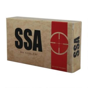 SSA Ammo 6.8mm SPC 110 Grain Nosler AccuBond (20) 20/Cs