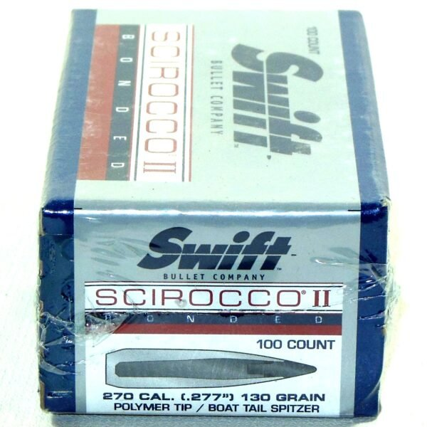 Swift Scirocco .277 / 270 130 Grain Boat Tails (100)