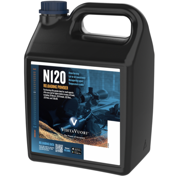 Vihtavuori N120 8 Pound of Smokeless Powder