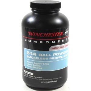 Winchester 244 1 Pound of Smokeless Powder