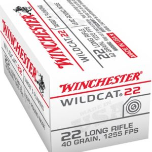 Winchester Wildcat 22 LR 40 Grain Lead Round Nose (50)