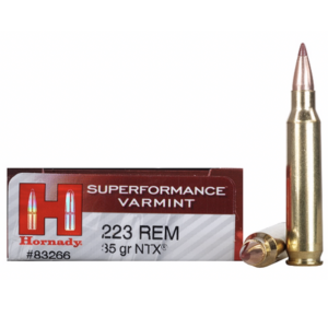 Hornady Ammo 223 Rem 45 Grain NTX (Lead Free) Superformance (20)