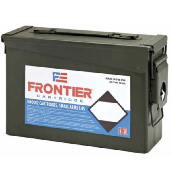 Frontier 5.56 Nato 55 Gr Hornady Full Metal Jacket (M193) 500 Rd. Ammo Can