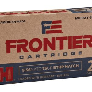 Frontier 5.56 Nato 75 Gr Hornady Boat Tail Hollow Point Match (20)