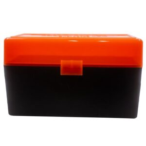 Berrys Ammo Box 243/308/6.5 Creedmoor Hinged Top 50 #409 (Hunter Orange)