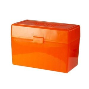 Berrys Ammo Box 270/30-06 Hinged Top 50 #410 (Hunter Orange)