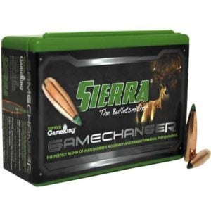 Sierra .308 / 30 165 Grain TGK Game Changer Polymer Tipped Spitzer Boat Tail (100)