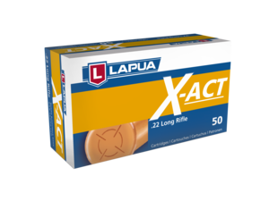Lapua 22LR 40 Grain Lead Round Nose X-ACT (50)