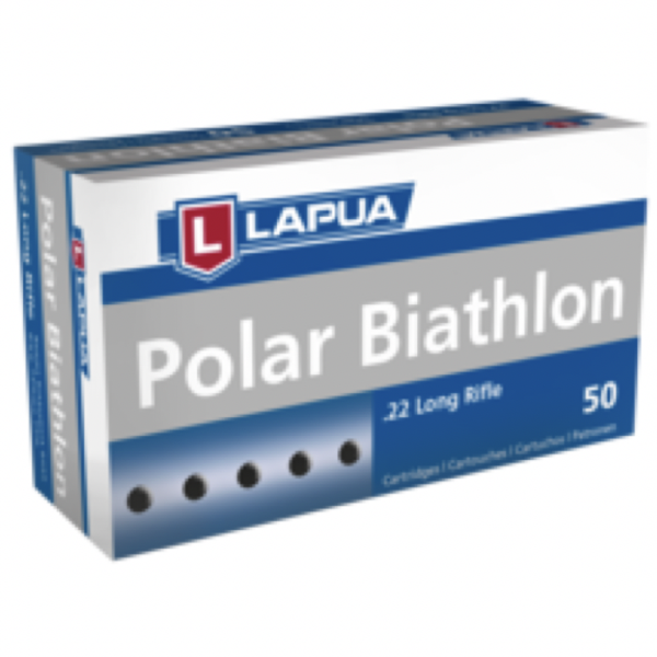 Lapua 22LR 40 Grain Lead Round Nose Polar Biathlon (50)