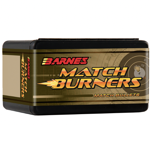 Barnes .243 / 6mm 112 Grain Match Burner Open Tip Match Boat Tail Bullet (100)