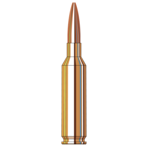Hornady Ammo 6mm Creedmoor 105 Grain Boat Tail Hollow Point (20)