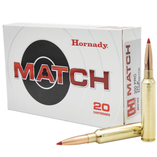 Hornady Ammo 300 PRC 225 Grain ELD-M (Extremly Low Drag) Match (20)