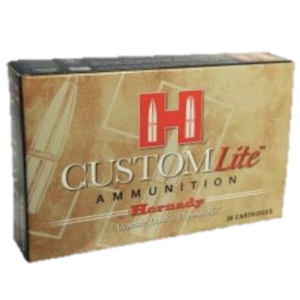 Hornady Ammo 270 Win 120 Grain Super Shock Tipped Custom Lite (20)