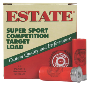 "Estate Ammo 12 Ga 1 1/8 Oz #8 2 3/4"" 3DR (25)"