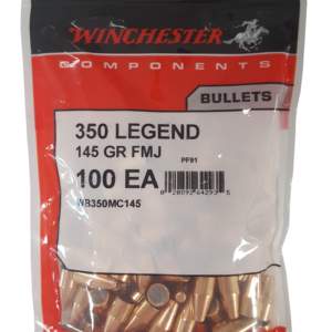 Winchester .357 / 350 Legend 145 Grain Full Metal Jacket (100)