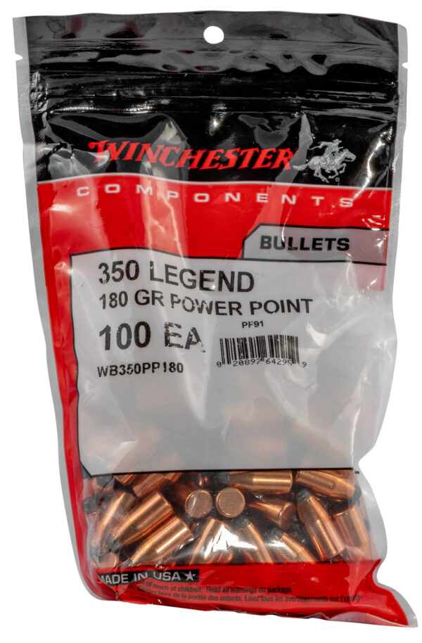 Winchester .357 / 350 Legend 180 Grain Power Point (100)