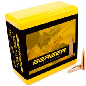 Berger .243 / 6mm 109 Grain Long Range Hybrid Target (100)