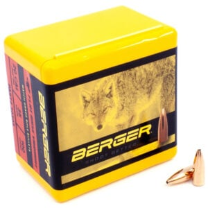 Berger .204 / 20 Cal 35 Grain Match Varmint Flat Base