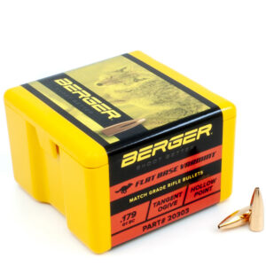 Berger .204 / 22 35 Grain Match Varmint Boat Tail (100)