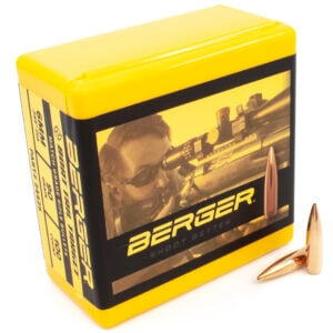 Berger .243 / 6mm 90 Grain Target Boat Tail (100)