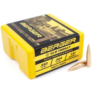 Berger .264 / 6.5mm 140 Grain Target Very Low Drag (100)