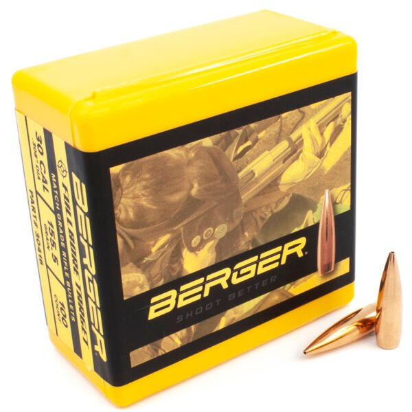 Berger .308 / 30 155.5 Grain Boat Tail Fullbore (100)V